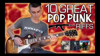 10 Great Pop Punk Riffs w/ Tabs