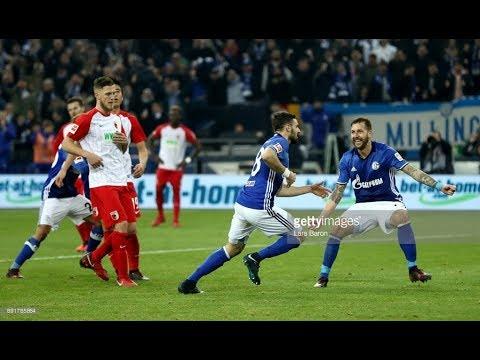 FC Schalke 04 v FC Augsburg | 3-2 | 13/12/17 | GOALS & HGIHLIGHTS | BUDNESLIGA| FIFA 18