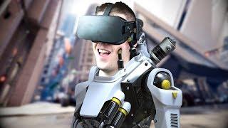 Blasting Robots! - Robo Recall Gameplay - VR Oculus Rift (Sponsored)