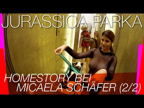 Jurassica Parka: Homestory Bei Micaela Schäfer (2/2)