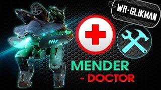 War Robots. Mender doctor. Мендер - робот, который лечит!<