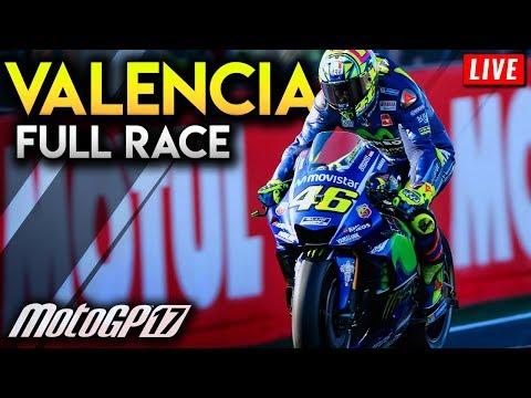 MotoGP Valencia 2017 Full Race (MotoGP 2017 PS4 Gameplay Live Stream - MotoGP Spain 2017 Finale ...