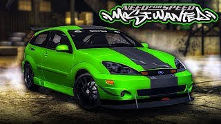 NFS Most Wanted | 2003 Ford Focus SVT Mod Gameplay [1440p60]