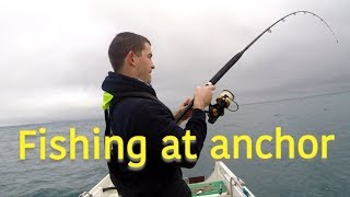 Winter Wreck Fishing - How to Anchor A Wreck