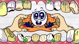 Nate Wants To Be Eaten By This Mouth???? Animated Cartoons Characters | Animated Short Films