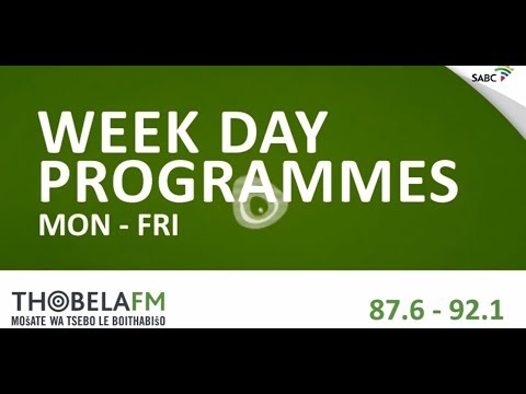 Thobela FM New Line-up 2018