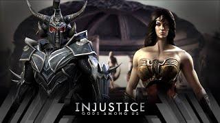 Injustice Gods Among Us - Ares Vs Wonder Woman (Very Hard)