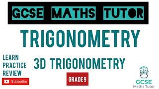 The 5 Hardest 3D Trigonometry Questions (+1 Extra) | Grade 7-9 Maths Series | GCSE Maths Tutor