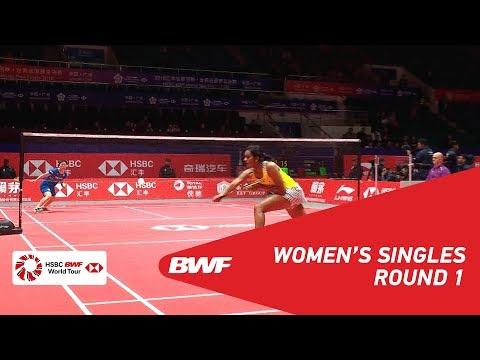 R1 | WS | Akane YAMAGUCHI (JPN) vs PUSARLA V. Sindhu (IND) | BWF 2018