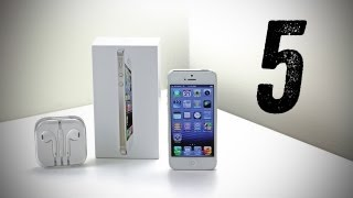 Apple iPhone 5 Unboxing (White iPhone 5 Unboxing) [Launch Day Unboxing]