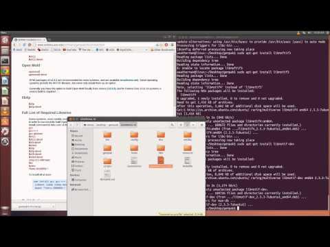 Installing GEMPAK on Ubuntu 14.04