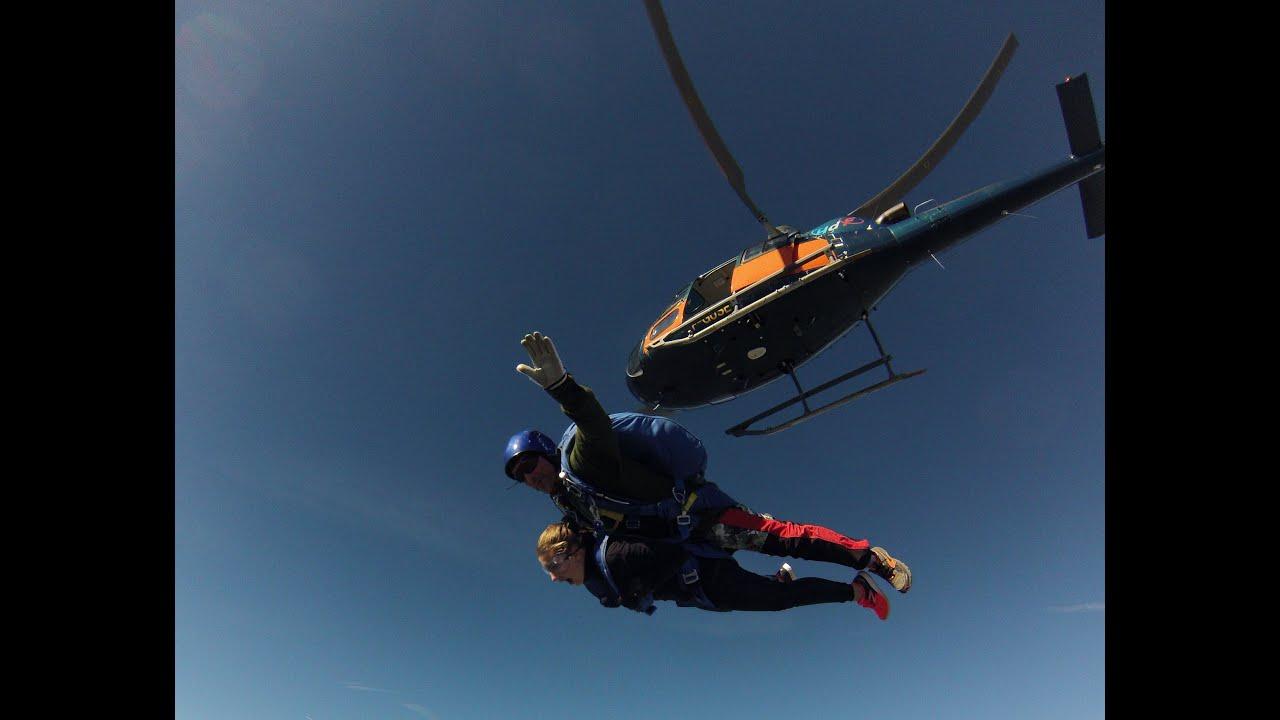 saut en parachute 4500m