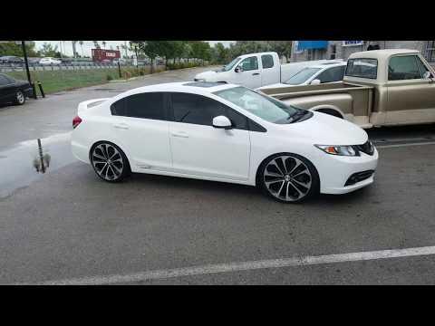 877-544-8473 20 Inch Honda Accord Sport Replica Black Machined Rims Honda Civic SI Wheels