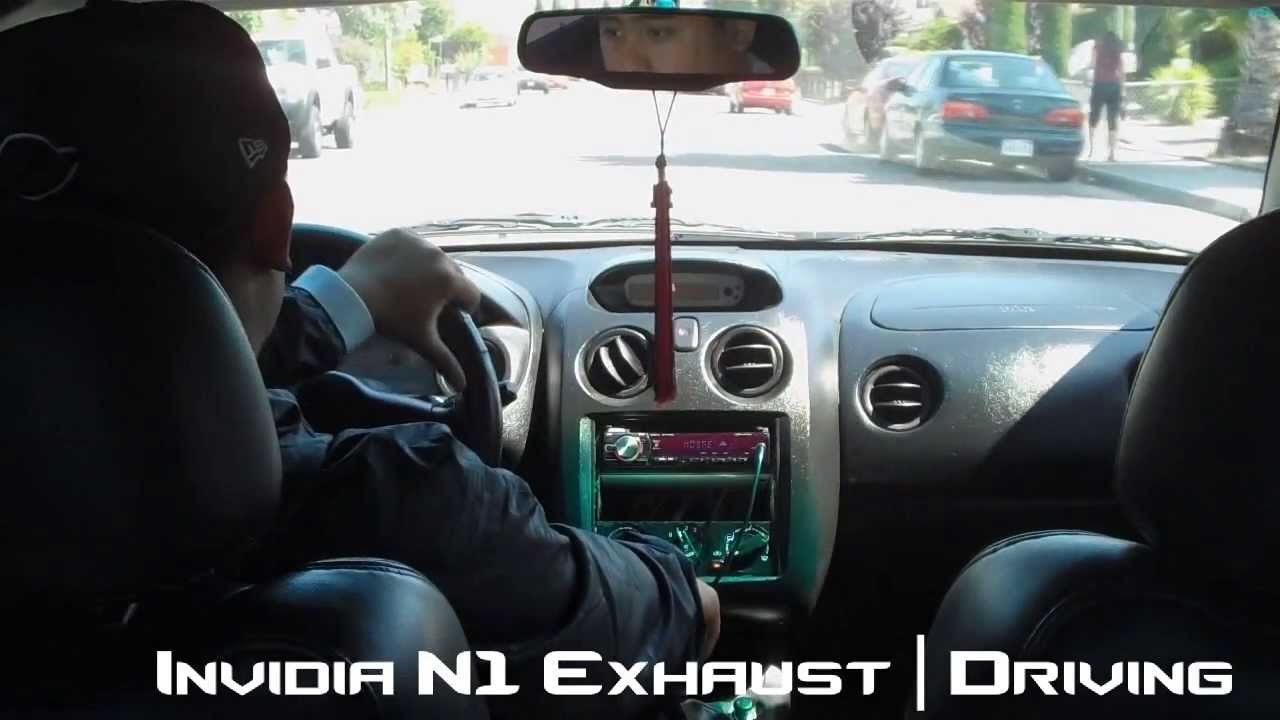 hight resolution of 2000 mitsubishi eclipse gt invidia n1 cat back exhaust system youtube