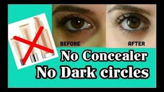 Hide Dark Circles WITHOUT CONCEALER + (LIVE DEMO) || Stylopedia