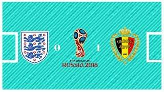 Inglaterra 0 x 1 Bélgica Melhores Momentos Copa Do Mundo 2018