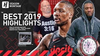 Damian Lillard BEST Highlights & Moments from 2018-19 NBA Season! Dame D.O.L.L.A!