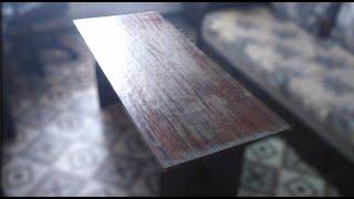Обновить журнальный стол? Дешево и быстро!