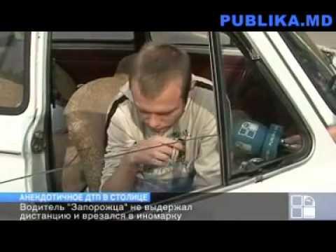 запорожец врезался в porsche panamera