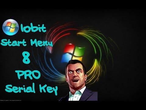 iobit start menu 8 ключ активации