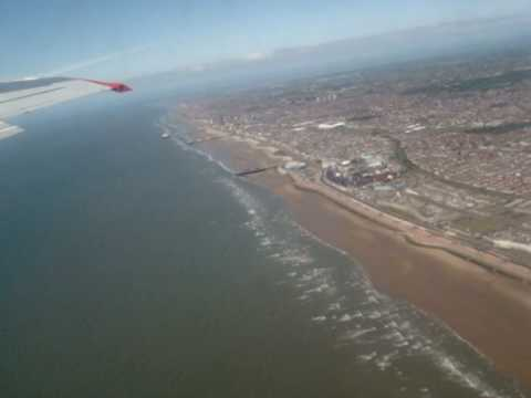take off from blackpool airport.mpg