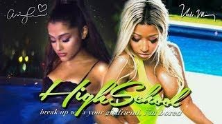 Baixar Ariana Grande & Nicki Minaj - break up with your high school girlfriend, i'm bored 💔 (Mashup) | MV