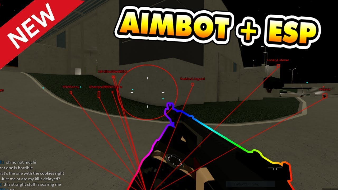 New Aimbot And Esp Script In Phantom Forces Owl Hub Roblox Youtube