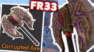 I GOT A FREE CORRUPTED AXE... (ROBLOX ASSASSIN)