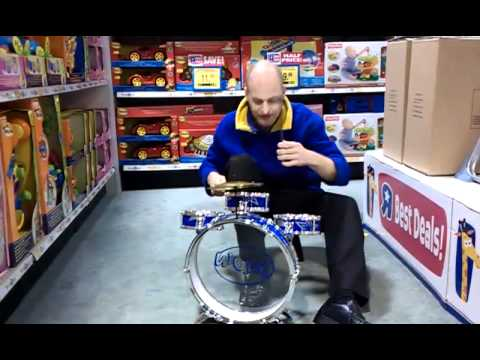Testing Drum Kit For Toysrus Youtube
