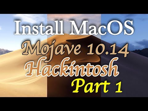 Install MacOS Mojave Hackintosh | Making Bootable USB | Step by Step