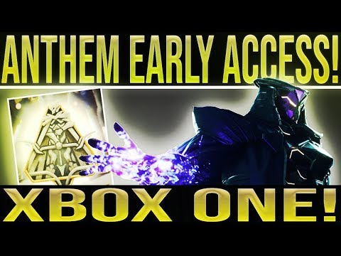 Anthem Xbox One Early Access. Story, Missions, Open World, Loot & More!