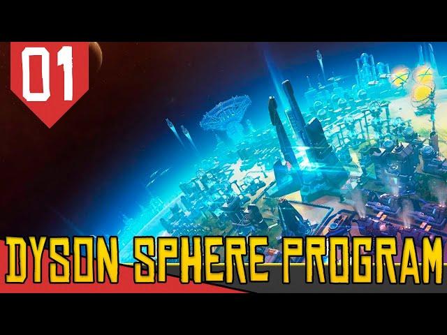 Construa uma Enorme FÁBRICA INTERPLANETÁRIA estilo Factorio! - Dyson Sphere Program [Gameplay PT-BR]