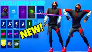 *NEW* EXCLUSIVE SKIN IKONIK SHOWCASE..! (Leaked Emotes) Fortnite Battle Royale
