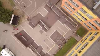 Droonivideo Paide Avatud Noortekeskuse Platsist