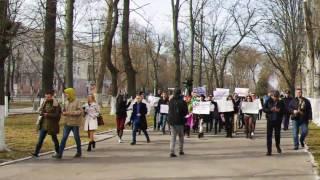 Марш «За ратификацию Стамбульской конвенции»