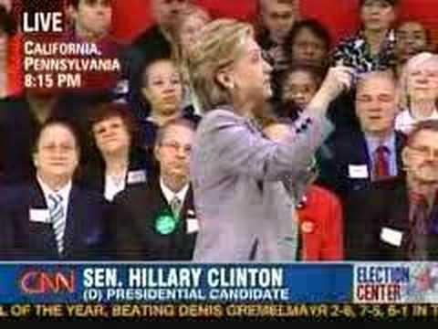 Hillary Clinton = JOBS! Speaking in California, Pennsylvania