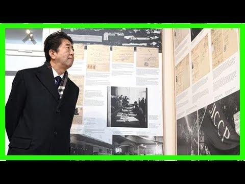杉原記念館視察後の安倍晋三首相の発言詳報 「杉原千畝の勇気ある行動は日本人の誇り」