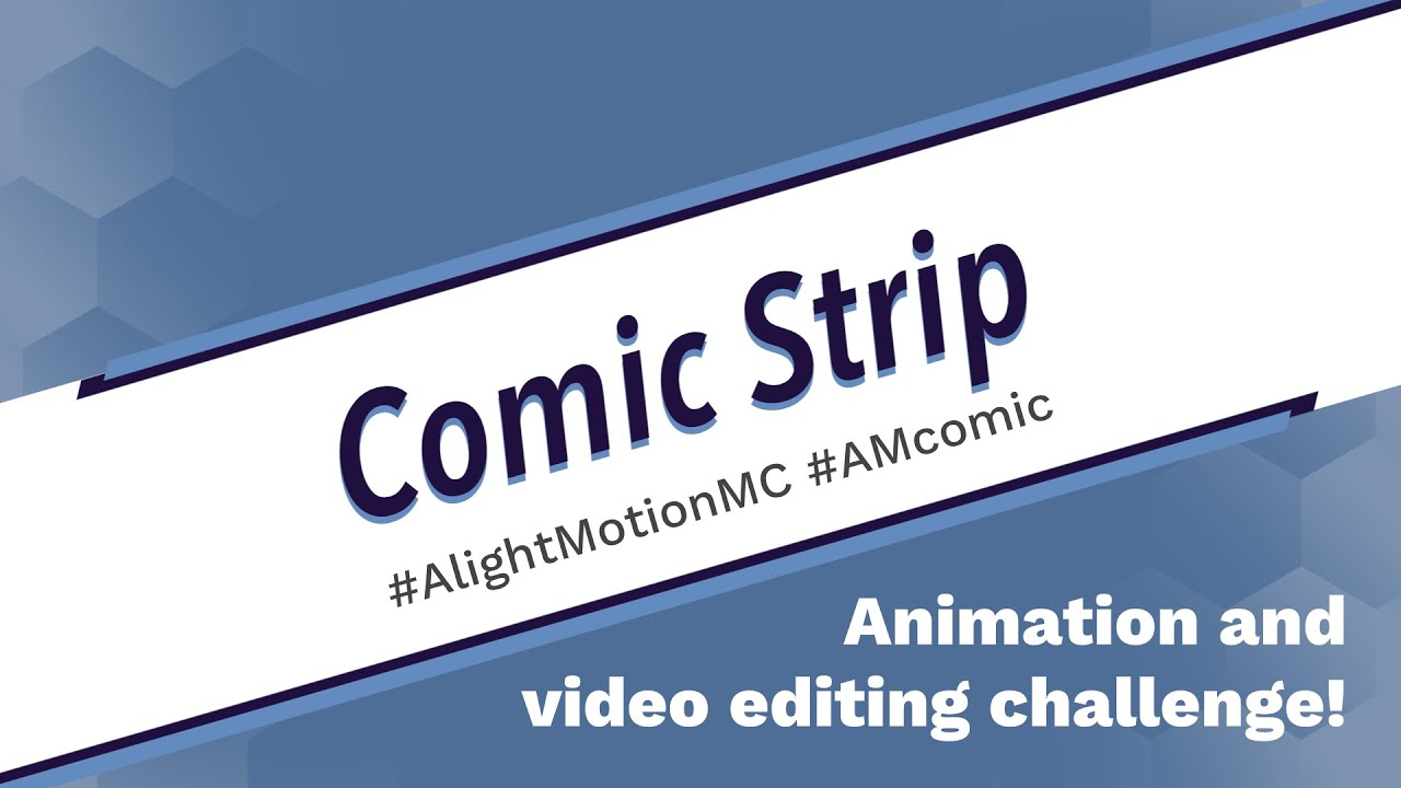 Comic Strip - Alight Motion Monthly Challenge