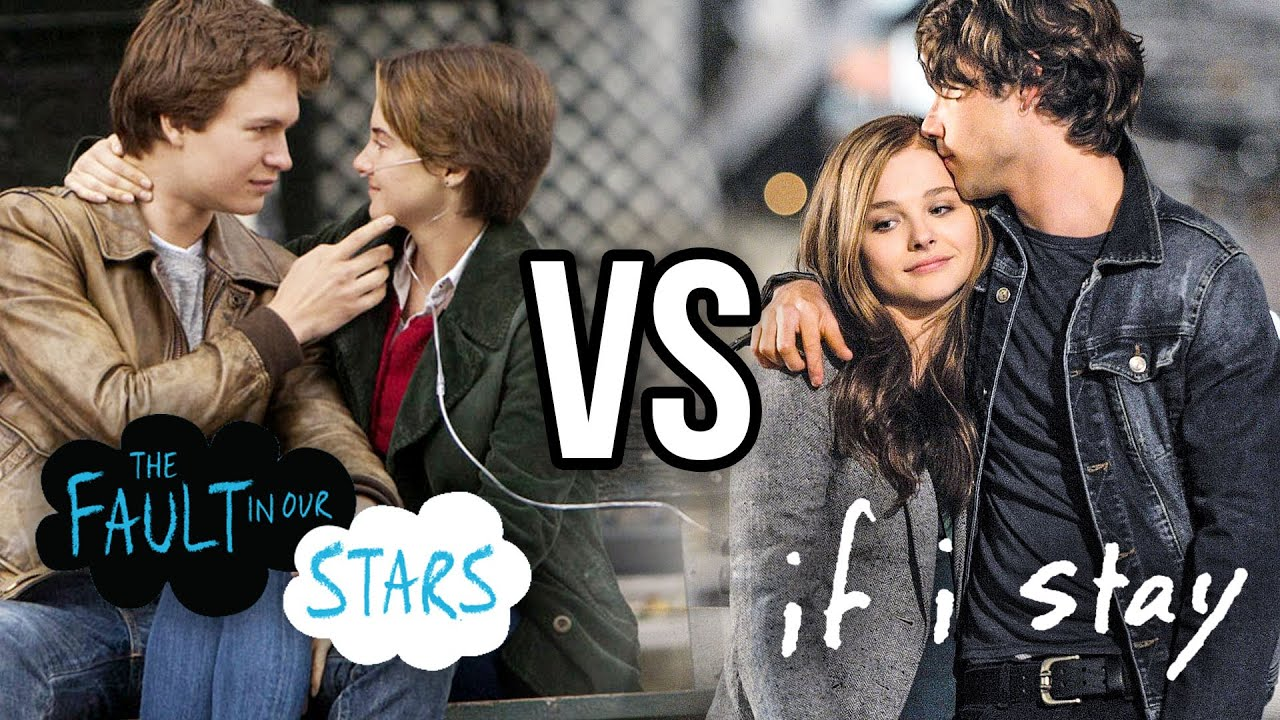 the fault in our stars vs if i stay most depressing