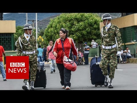 Thousands of Venezuelans cross border to Colombia- BBC News