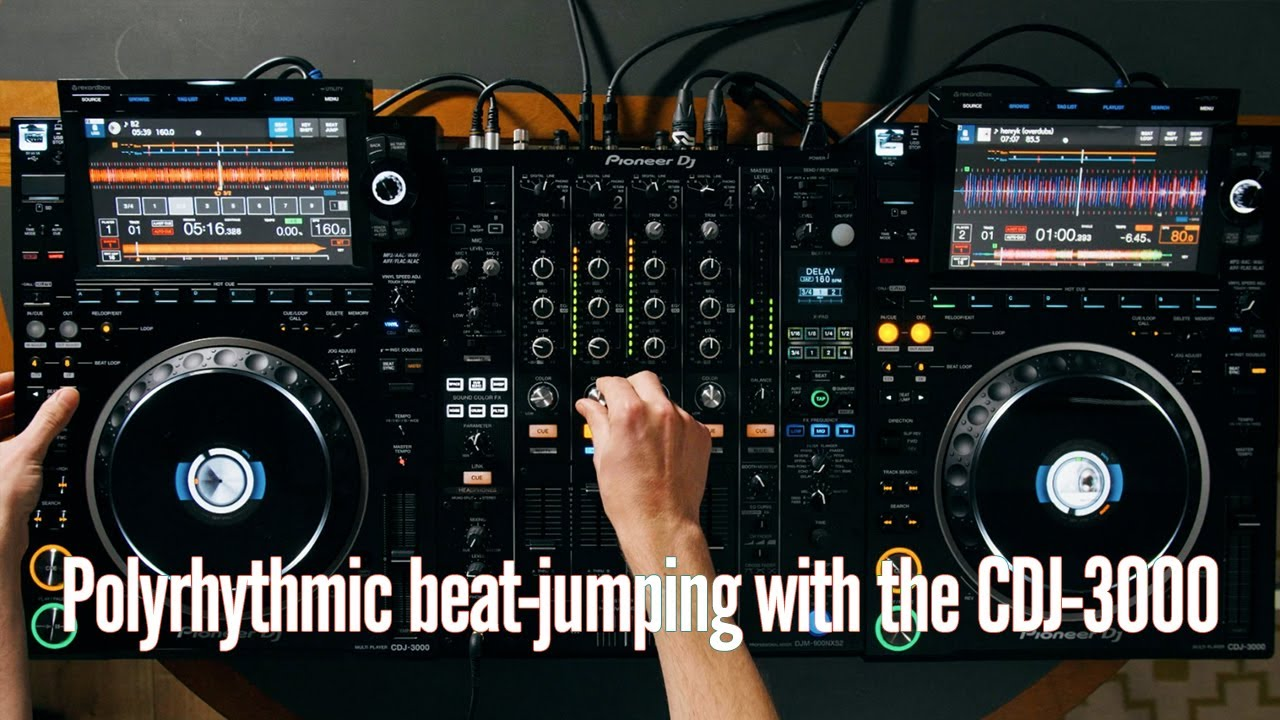 Polyrhythmic beat-jumping with the CDJ-3000 | RA | Pioneer DJ