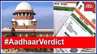 #AadhaarVerdict: Enough Safeguards In Aadhaar Scheme, Says SC | Live Updates