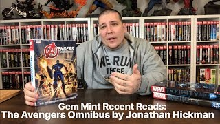 Gem Mint Recent Reads: The Avengers Omnibus by Jonathan Hickman