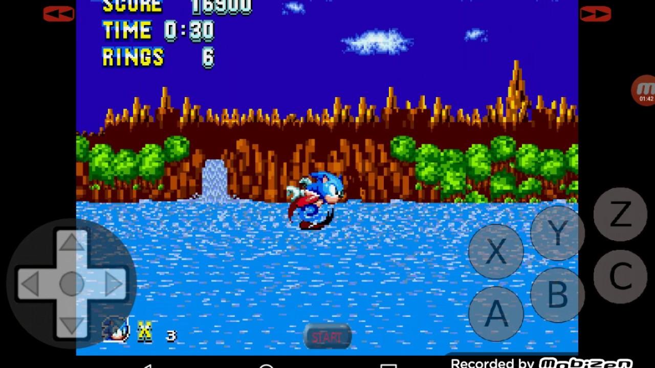 Hack 11: Sonic The Hedgehog Sonic Mania edition @GenPlusDroid