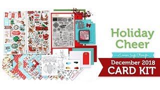 Simon Says Stamp Card Kit Reveal and Inspiration: Holiday Cheer