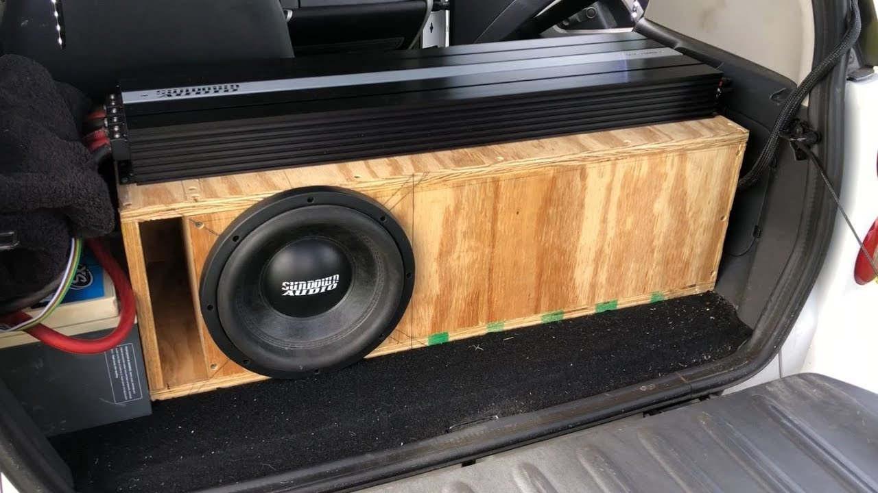 BIG BASS WITH 1 10 | 2 ZV5 15S IN A 32HZ SUBWOOFER BOX