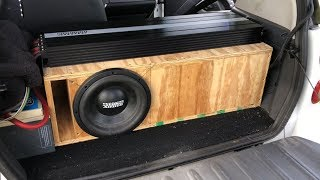 Download BIG BASS WITH 1 10 | 2 ZV5 15S IN A 32HZ SUBWOOFER BOX Mp3