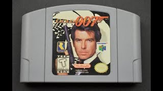 N64 007 GOLDENEYE START TO FINISH