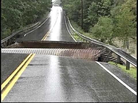Road Collapse- Maine 2008