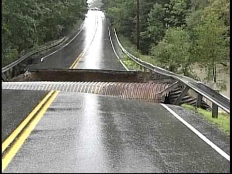 Road Collapse- Maine 2008